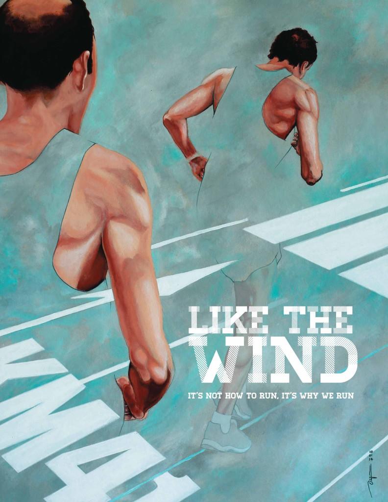Couverture No 7, Vincent Dogna (http://www.artandrun.com/). Disponible en poster giclée 30x40cm sur le site de Like the Wind